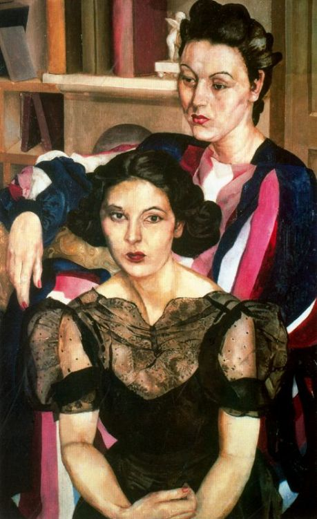 the-sisters Stanley Spencer