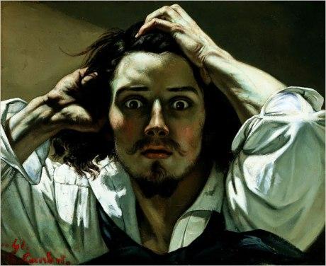 the-desperate-man-self-portrait courbet-1845